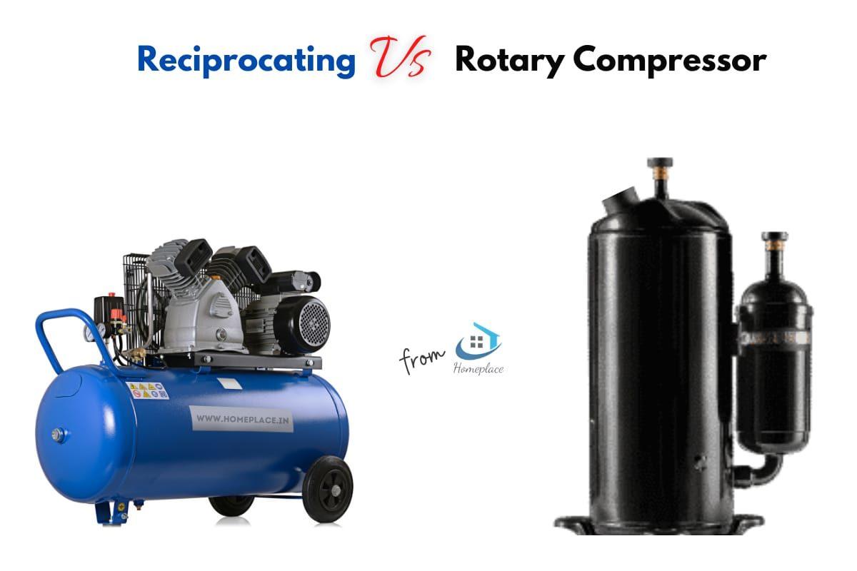 Rotary vs. Reciprocating Compressor comparison