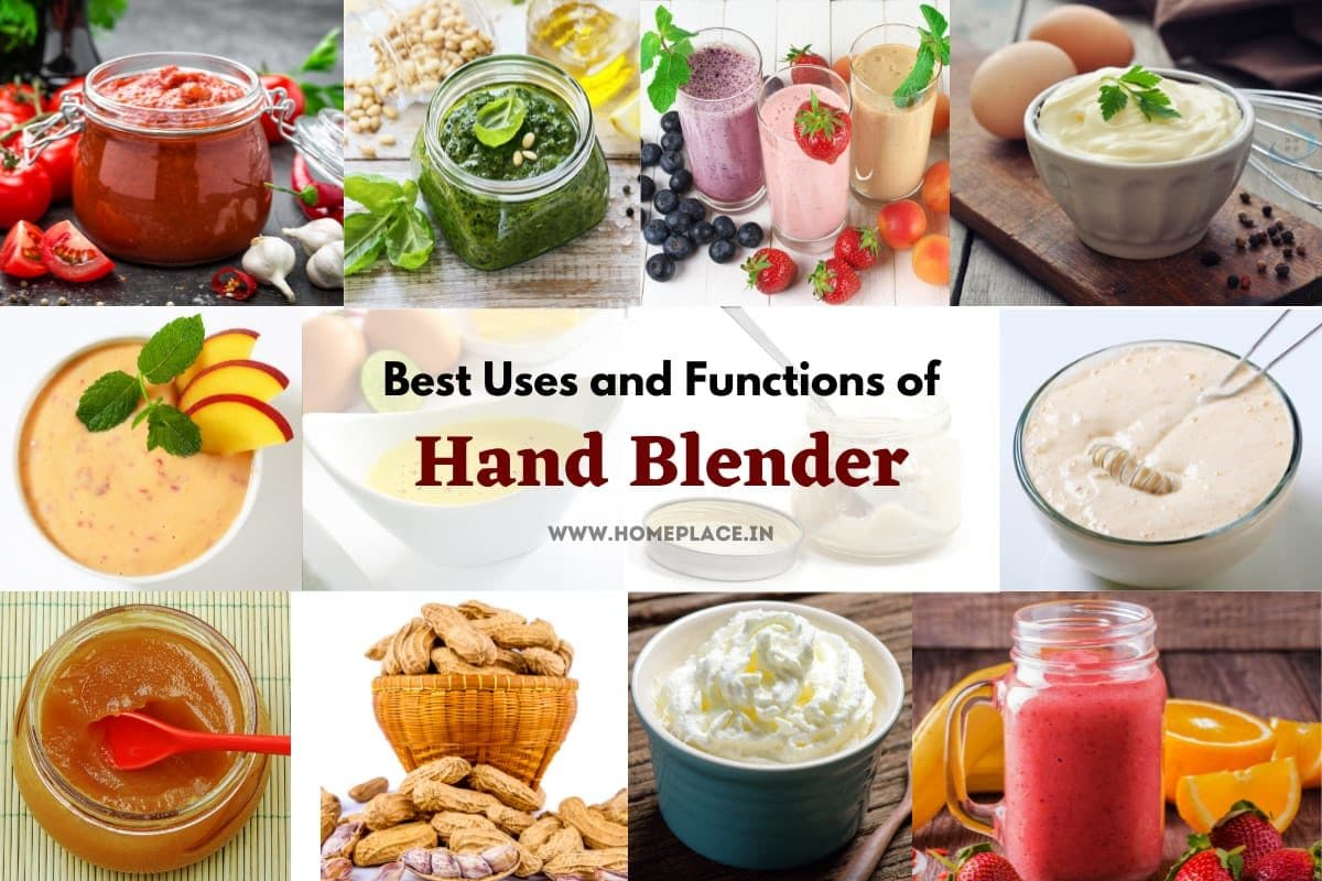 Smart Uses And Functions Of Hand Blender