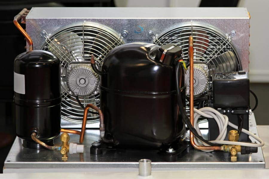 inverter compressor system in a refrigerator