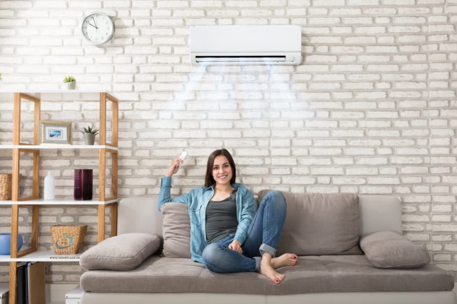 inverter AC in a room